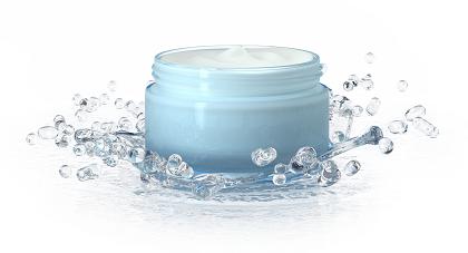 cosmetic cream water